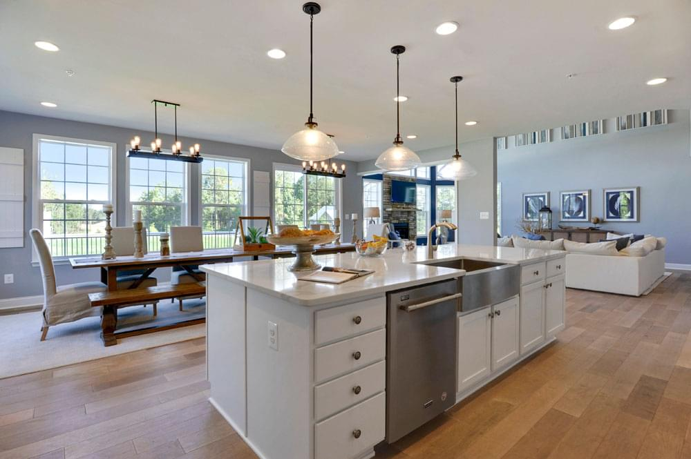 The Princeton New Home In Brandywine Md Archer S Glen From Caruso Homes