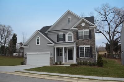Georgetown New Home Floorplan in Maryland