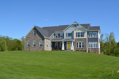 Monticello - Craftsman New Home Floorplan in Maryland