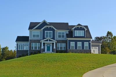 Princeton - Craftsman New Home Floorplan in Maryland