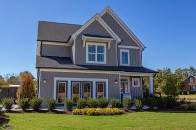 Norman New Home Floorplan in North Carolina