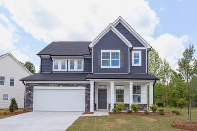 Gaston New Home Floorplan in North Carolina