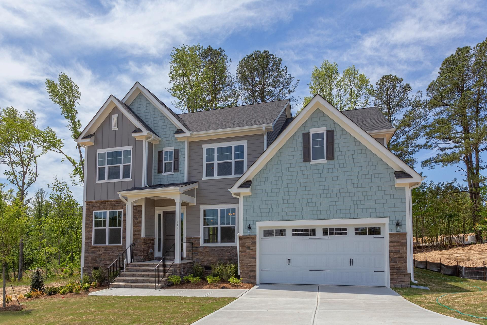 Statesville New Home in Cary