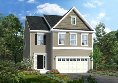 Lehigh New Home Floorplan in Maryland