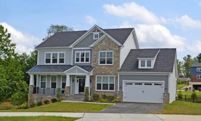 Lexington II - Craftsman New Home Floorplan in Maryland