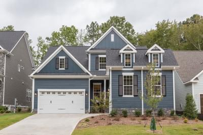 Hickory New Home Floorplan in North Carolina