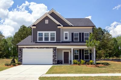 Badin New Home Floorplan in North Carolina