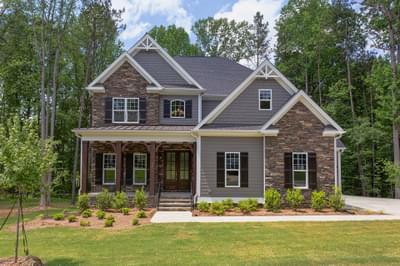 Chapel Hill New Home Floorplan in North Carolina
