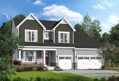 Vanderbilt New Home Floorplan in Delaware