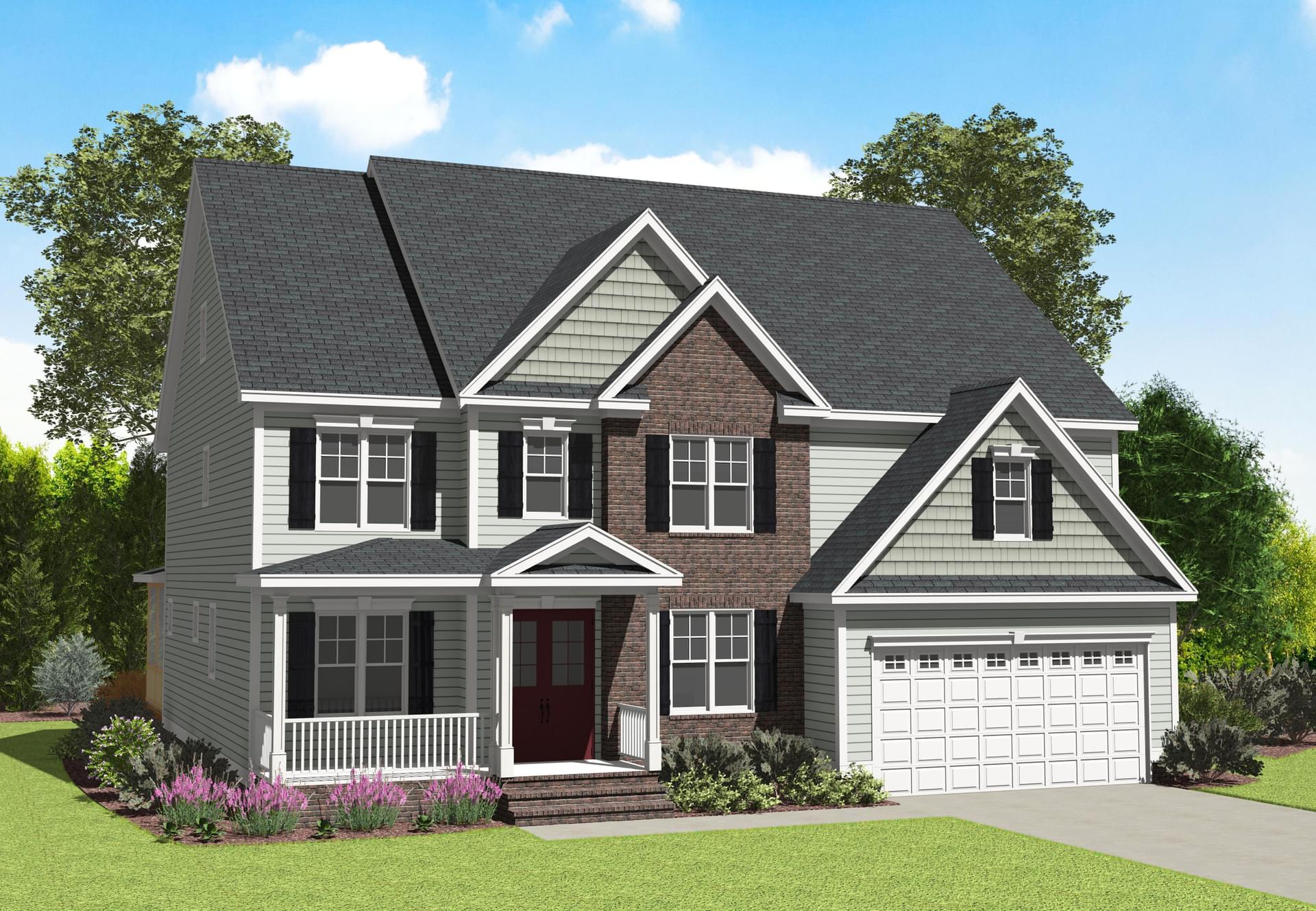 Garrison New Home in Delaware