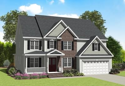 Garrison New Home Floorplan in Delaware