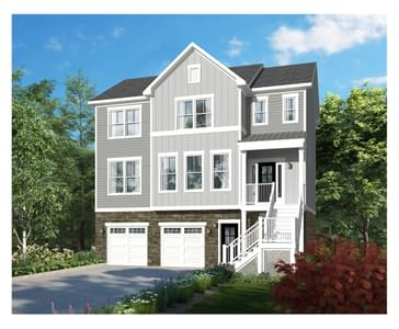 Hamilton New Home Floorplan in Delaware