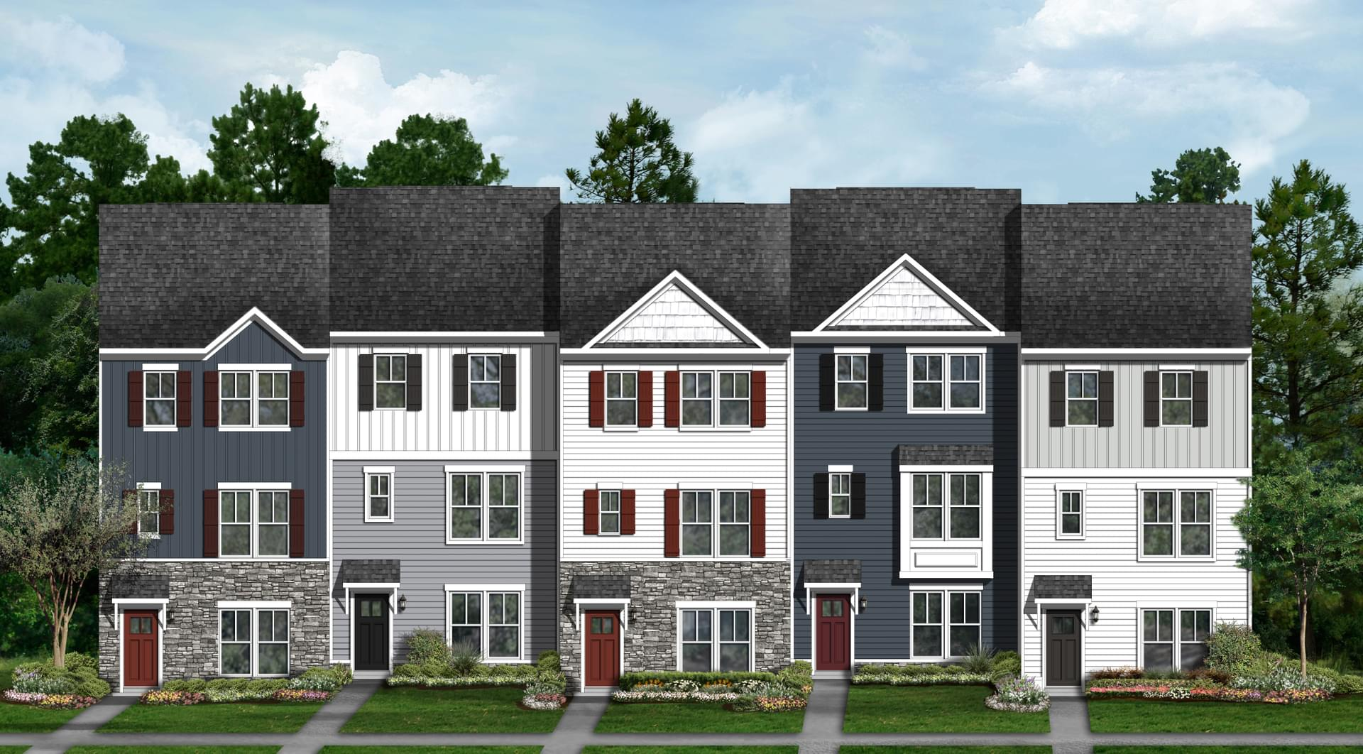 Wye - Rear Load New Home in Owings Mills