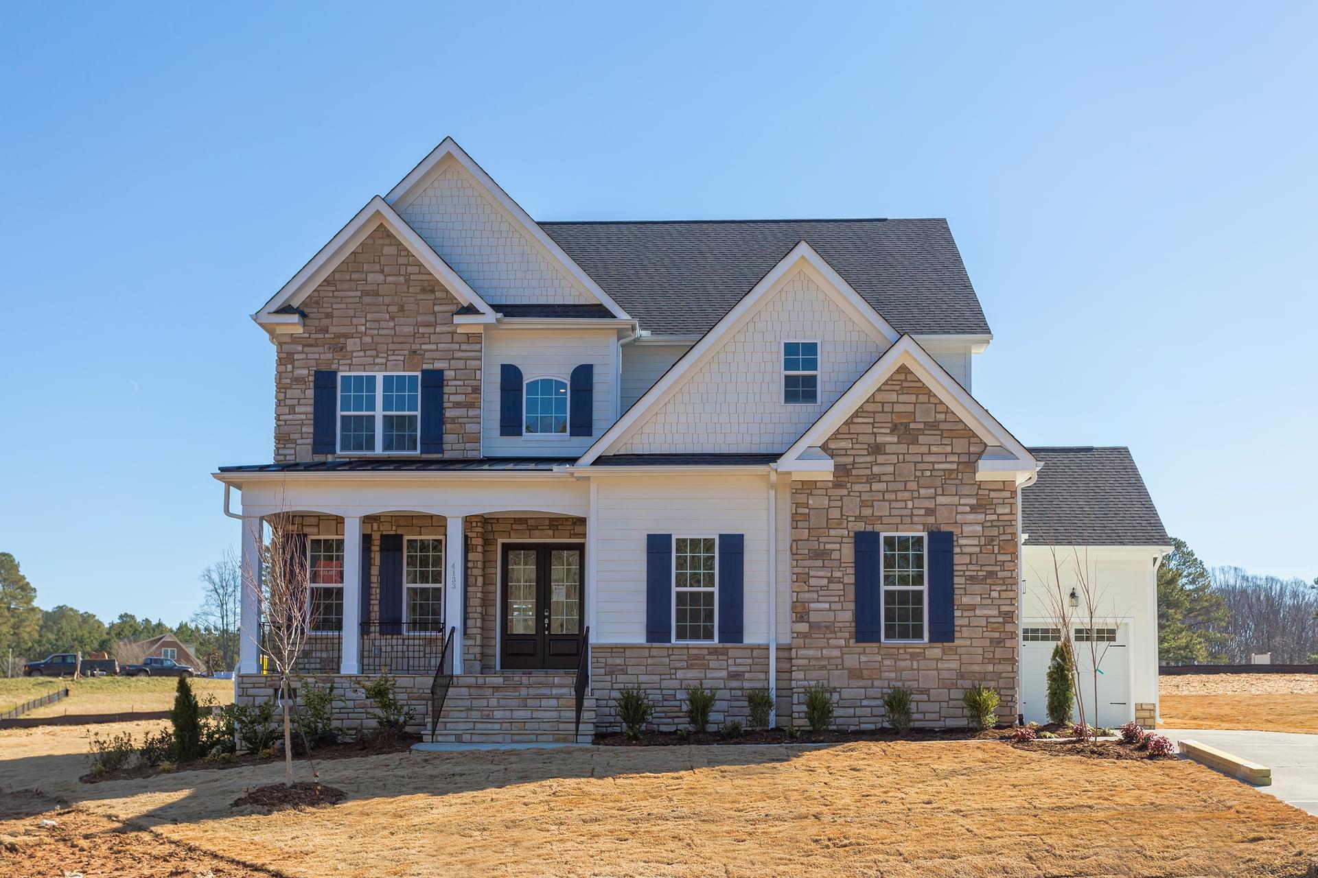 4133 Bankshire Lane Raleigh NC New Home for Sale