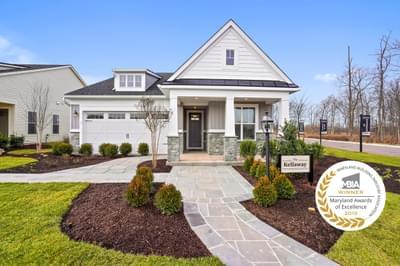Kellaway New Home Floorplan in Maryland