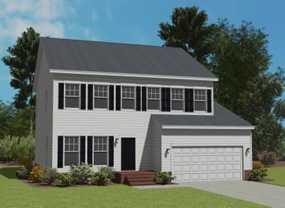 Custom Home in Green Level NC