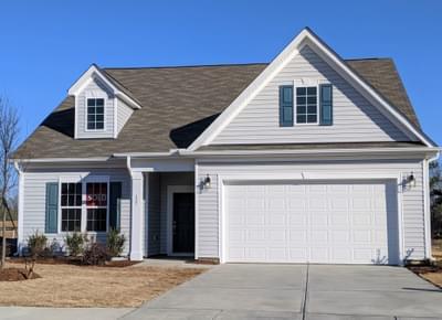 Custom Home in Timberlake NC