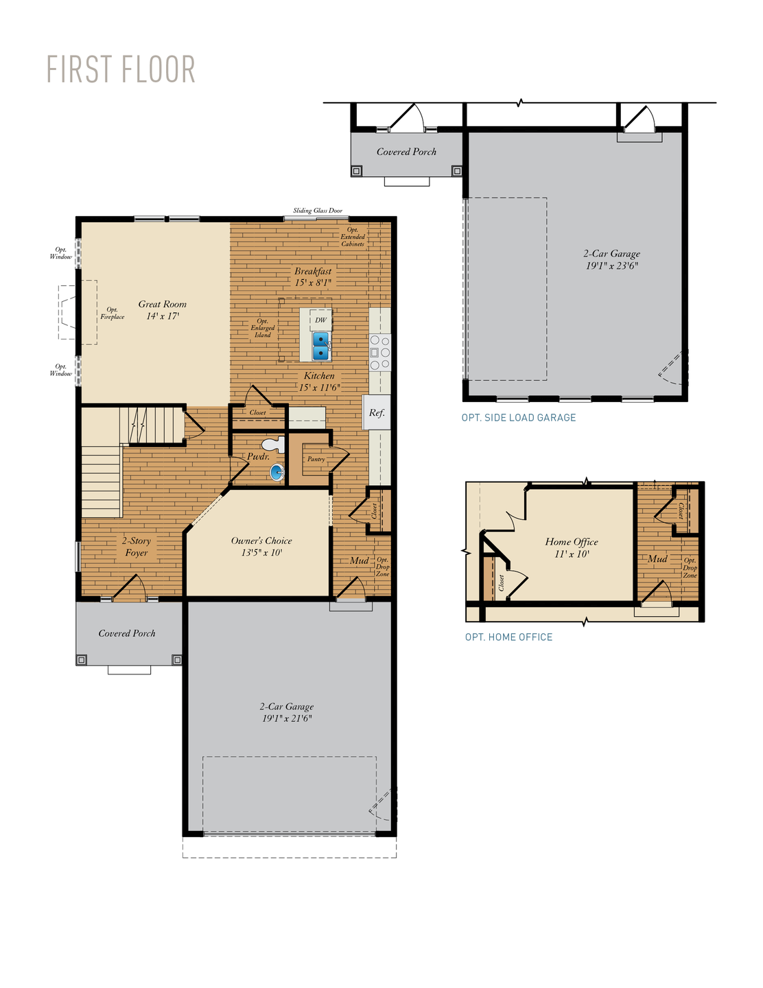 First Floor. Amherst Home with 4 Bedrooms