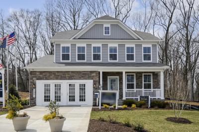Custom Home in Clarksburg MD