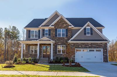 Garrison New Home Floorplan in Delaware