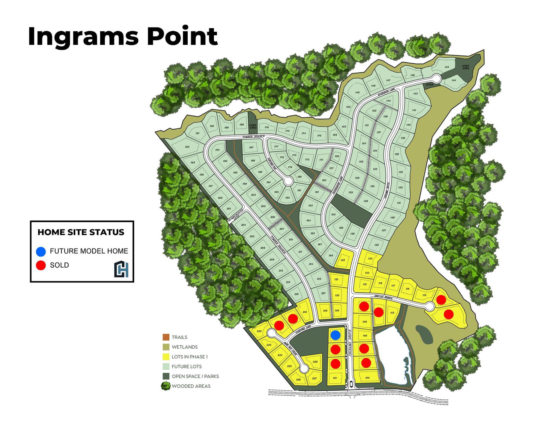 Siteplan -  Ingrams Point