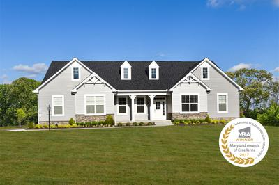 Baywood New Home Floorplan in Maryland