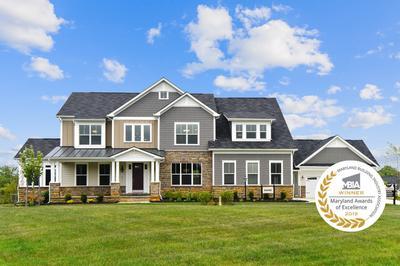 Kingsport - Craftsman New Home Floorplan in Maryland