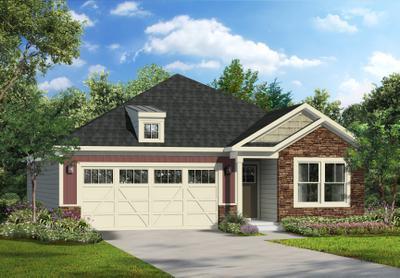 Osmond New Home Floorplan in Pennsylvania