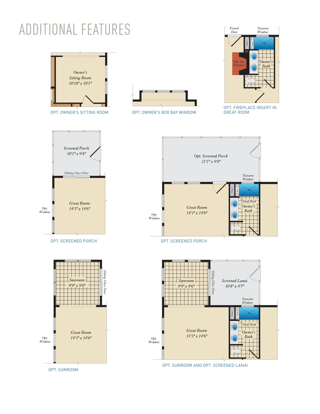 Additional Features . Puccini II Home with 3 Bedrooms