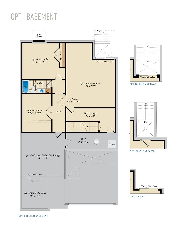 Optional Basement. Kellaway Home with 2 Bedrooms