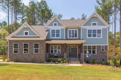 Custom Home in Holly Springs NC