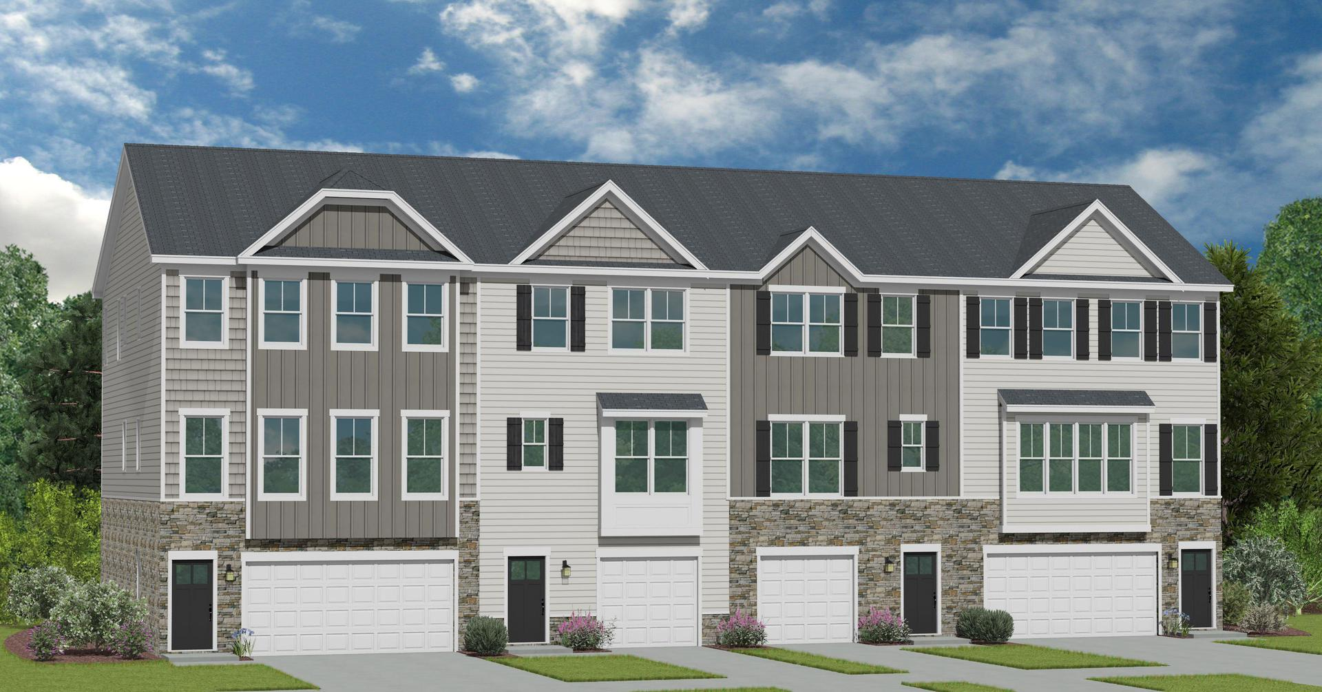 The Parc Townes at Wendell New Homes in Wendell NC