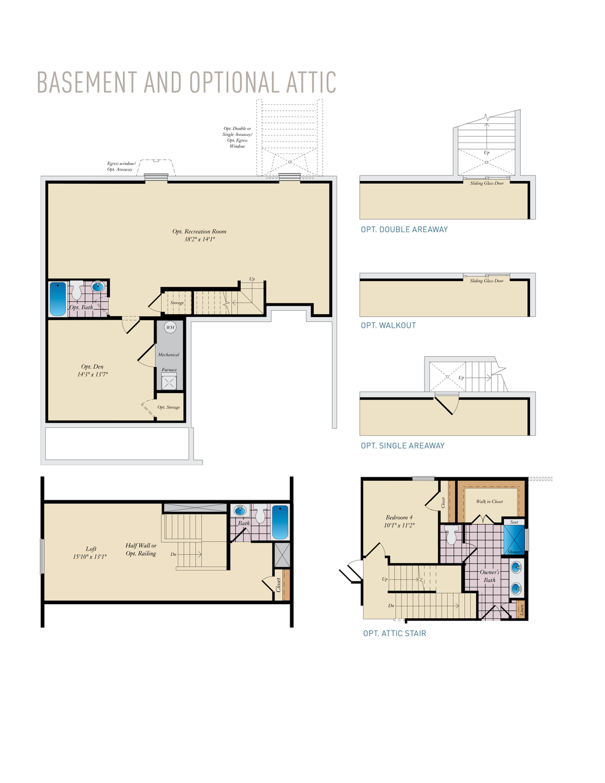 Basement & Opt. Attic . Deerfield Home with 4 Bedrooms