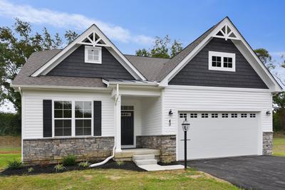 Ashland New Home Floorplan in Maryland