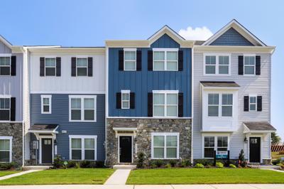Wye - Rear Load New Home Floorplan in Maryland