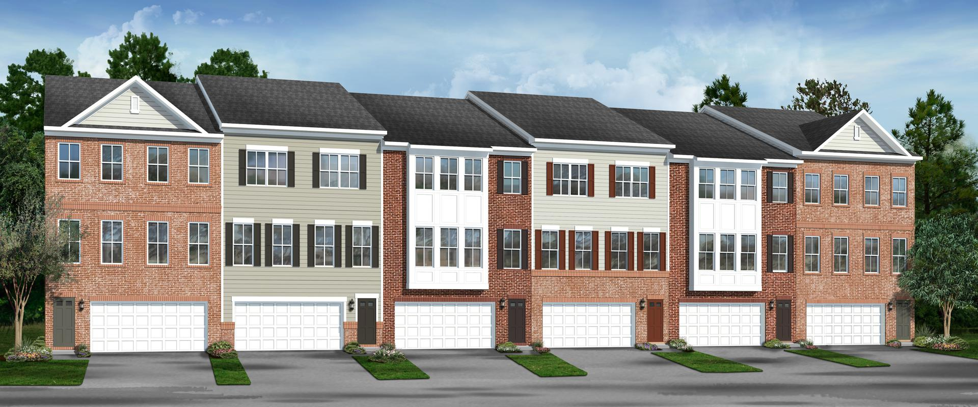 Amber Ridge New Homes in Bowie MD