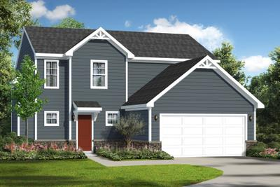 Nanticoke New Home Floorplan in Maryland