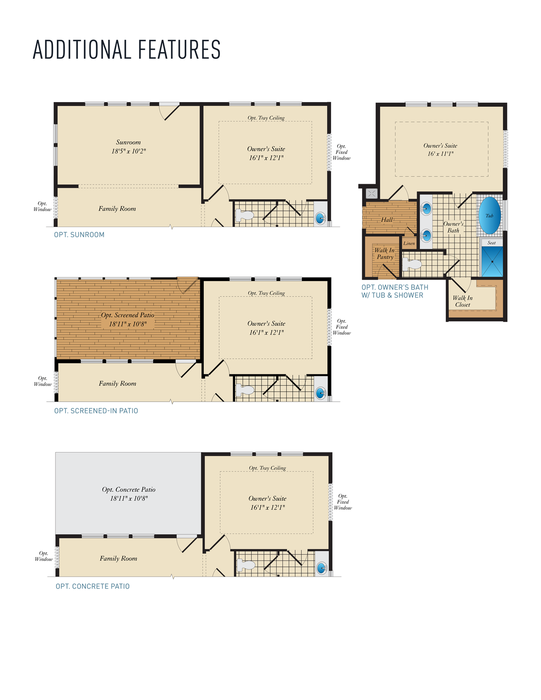 Additional Features. Ives Home with 2 Bedrooms