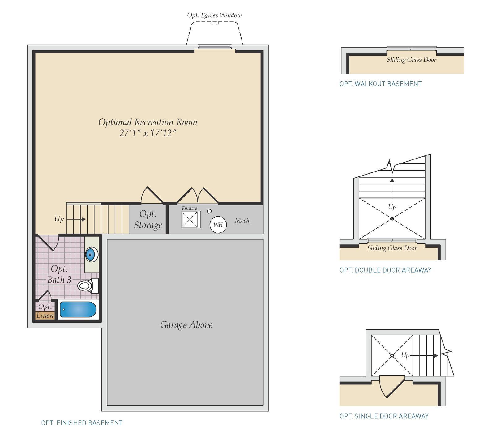 Optional Basement. Pocomoke Home with 4 Bedrooms